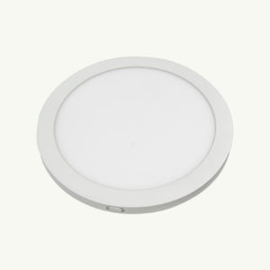 18w slim panel ceiling light (front)