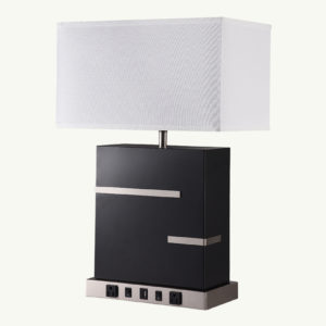 coral collection twin table lamps