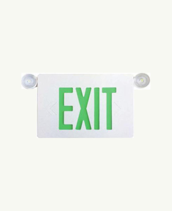 Exit Sign with emergency lights