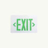 Exit Signs without emergency lights